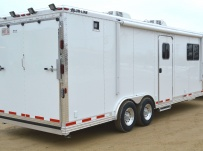 Bumper Pull Enclosed Cargo Trailers - BPDF 88A