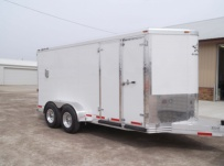 Bumper Pull Enclosed Cargo Trailers - BPDF 71