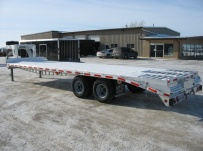 Gooseneck Heavy Equipment Flatbed Trailers - GNF 30B