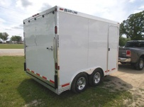 Bumper Pull Enclosed Cargo Trailers - BPDF 78