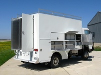 Enclosed Models Service Truck Bodies - SBE 37B
