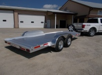 Bumper Pull Open Automotive Aluminum Trailers - BPOC 26