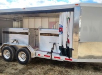 Bumper Pull Enclosed Cargo Trailers - BPDF 85B