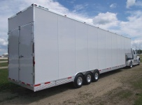Gooseneck Automotive All Aluminum Enclosed Trailers - GNA 35A