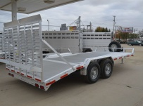Bumper Pull Heavy Equipment Skid Loader Trailer - SKL 39A