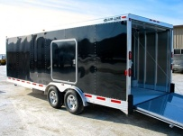 Bumper Pull Automotive All Aluminum Enclosed Trailers - BPA 20B