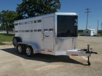 Showmaster Full Height Small Livestock Trailers - BPSM 38