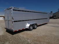 Commercial Double Deck Livestock Trailers - GNDD 46D
