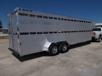 Commercial Double Deck Livestock Trailers - GNDD 47A