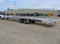 Gooseneck Heavy Equipment Flatbed Trailers - GNF 40A