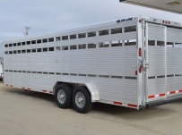 Commercial Gooseneck Livestock Trailers - GNL 107A