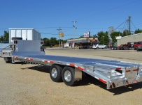 Gooseneck Heavy Equipment Flatbed Trailers - GNF 107