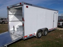 Bumper Pull Automotive All Aluminum Enclosed Trailers - BPA 72C