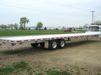 Gooseneck Heavy Equipment Flatbed Trailers - GNF 28