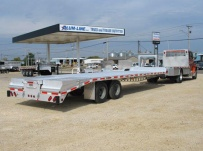 Gooseneck Heavy Equipment Flatbed Trailers - GNF 47