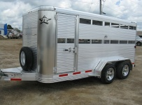 Commercial Bumper Pull Livestock Trailers - BPL 22