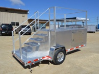 Open Utility Heavy Duty Utility Trailers - BPUC 50