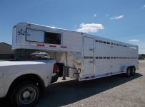 Commercial Double Deck Livestock Trailers - GNDD 47D