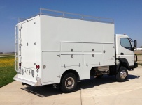 Enclosed Models Service Truck Bodies - SBE 37A