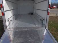 Bumper Pull Automotive All Aluminum Enclosed Trailers - BPA 72B