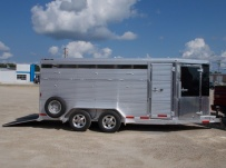 Showmaster Full Height Small Livestock Trailers - BPSM 33