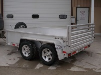 Open Utility Heavy Duty Utility Trailers - BPUC 37