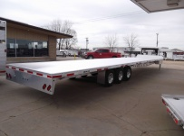 Gooseneck Heavy Equipment Flatbed Trailers - GNF 79