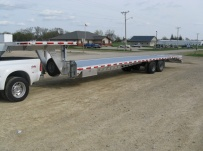 Gooseneck Heavy Equipment Flatbed Trailers - GNF 40B