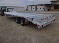 Gooseneck Heavy Equipment Flatbed Trailers - GNF 91