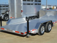 Open Utility Heavy Duty Utility Trailers - BPUC 48