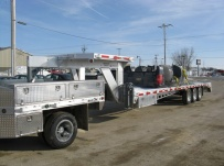 Gooseneck Heavy Equipment Flatbed Trailers - GNF 50
