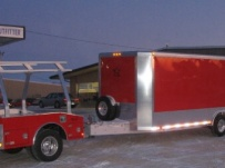 Bumper Pull Enclosed Cargo Trailers - BPDF 18