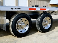 Gooseneck Heavy Equipment Flatbed Trailers - GNF 95B