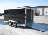 Bumper Pull Automotive All Aluminum Enclosed Trailers - BPA 19B