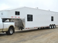 Gooseneck Automotive All Aluminum Enclosed Trailers - GNA 37A