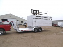Dual Line Small Livestock Trailers - DL 21