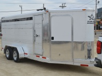 Showmaster Full Height Small Livestock Trailers - BPSM 39