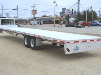 Gooseneck Heavy Equipment Flatbed Trailers - GNF 103C