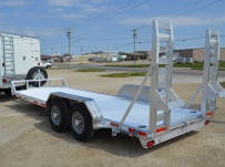 Bumper Pull Heavy Equipment Skid Loader Trailer - SKL 41