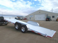 Bumper Pull Open Automotive Aluminum Trailers - BPOC 27A