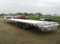 Gooseneck Heavy Equipment Flatbed Trailers - GNF 41B