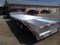 Bumper Pull Heavy Equipment Flatbed Trailers - BPF 35