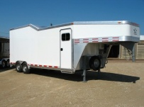 Gooseneck Automotive All Aluminum Enclosed Trailers - GNA 16A
