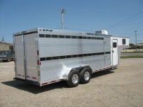 Commercial Double Deck Livestock Trailers - GNDD 21