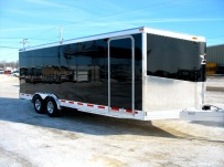 Bumper Pull Automotive All Aluminum Enclosed Trailers - BPA 20A