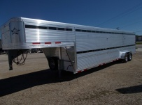 Commercial Double Deck Livestock Trailers - GNDD 46A