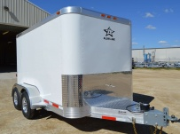 Bumper Pull Enclosed Cargo Trailers - BPDF 89A