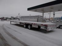 Gooseneck Heavy Equipment Flatbed Trailers - GNF 85