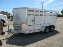 Showmaster Full Height Small Livestock Trailers - BPSM 16