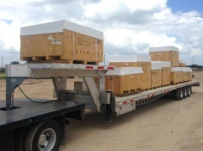 Gooseneck Heavy Equipment Flatbed Trailers - GNF 108C
